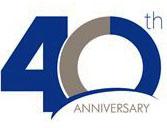 40th logo